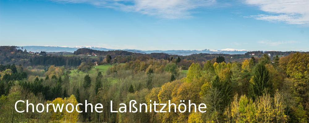 Chorwoche Laßnitzhöhe